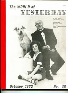 World of Yesterday  #38 6/1982-Little Orphan Annie-Blondie-Joe Palooka-VG