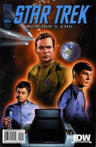 Star Trek: Mission's End #5 VF/NM; IDW | save on shipping - details inside