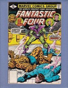 Fantastic Four #206 VG Skrulls Marvel 1979