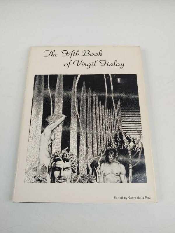 Virgil Finlay HC 5 VF/NM the fifth book of virgil finlay hardcover 1979 rare