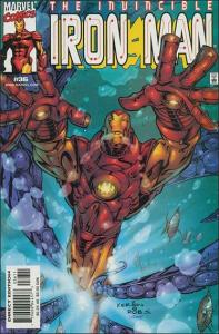 Marvel IRON MAN (1998 Series) #36 FN