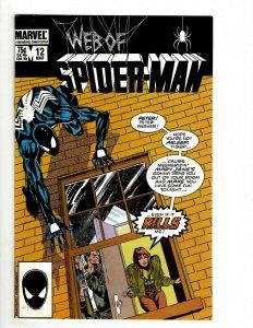 10 Web Of Spider-Man Marvel Comic Books # 12 13 14 15 16 17 18 19 20 21 UD2