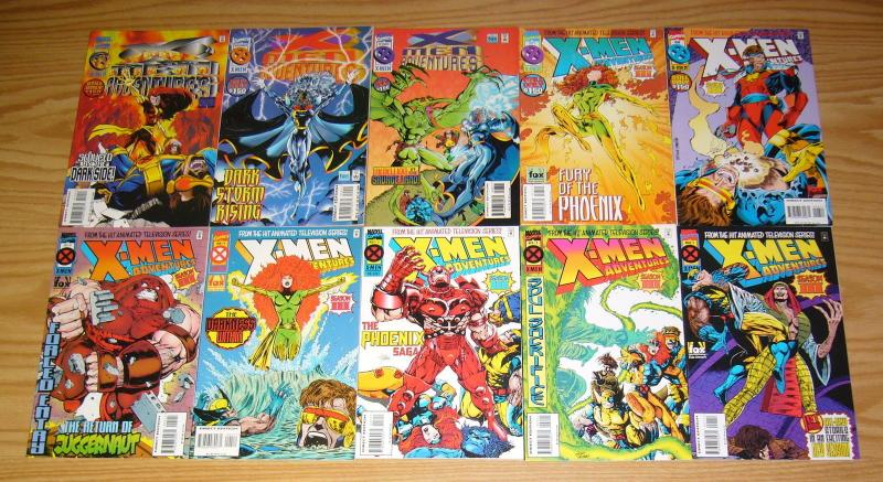 X-Men Adventures Season III #1-13 VF/NM complete series based on cartoon tv show