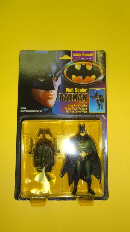 WALL SCALER BATMAN - DARK KNIGHT COLLECTION KENNER 1990- MOC