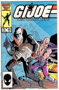 G.I. Joe A Real American Hero #49 - 1st App SERPENTOR! 1st Print High Grade