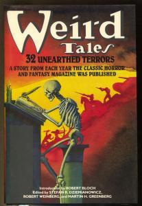 Weird Tales 1988-Bonanza-32 horror storeis-1st edition hard back-Lovecraft-VF/NM