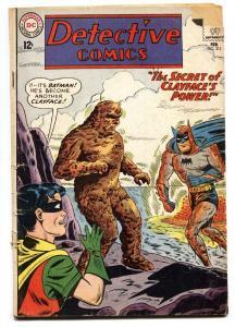 Detective #312 1963-DC Comics-Clay-Face cover-Silver Age Batman-GOOD