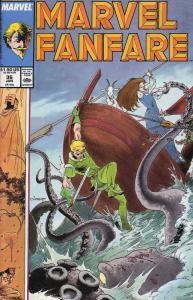 Marvel Fanfare #36 VF/NM; Marvel | save on shipping - details inside
