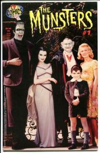 MUNSTERS #1, TV Comics, VF, Herman, Lily, Eddie, Marilyn,1997, Al Lewis