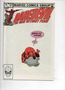 DAREDEVIL #187 VF/NM  Murdock, Frank Miller, 1964 1982, more Marvel in store