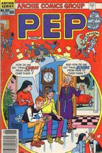 Pep Comics #384, Fine- (Stock photo)