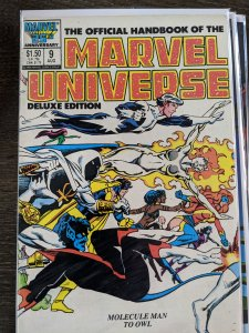 The Official Handbook of the Marvel Universe #9 (1986)