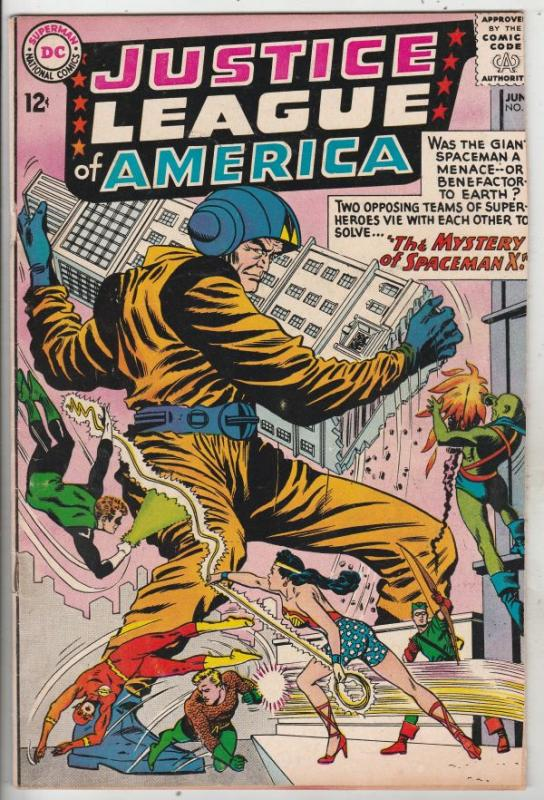 Justice League of America #20 (Jun-63) VG Affordable-Grade Justice League of ...