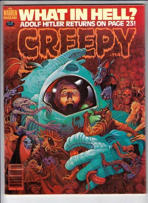 Creepy Magazine #114 (Jan-80) NM- High-Grade