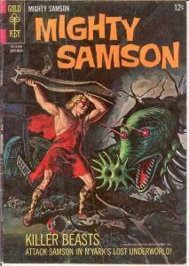 MIGHTY SAMSON 7 GOOD  September 1966 COMICS BOOK