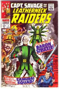 Captain Savage and His Leatherneck Raiders #2 (Mar-68) FN Mid-Grade Captain S...