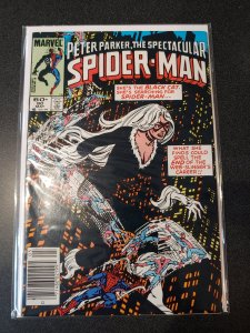 Spectacular Spider-Man #90. VF/NM EARLY BLACK CAT APPEARANCE