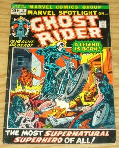 Marvel Spotlight (Vol. 1) #5 VG; Marvel | 1st appearance of ghost rider