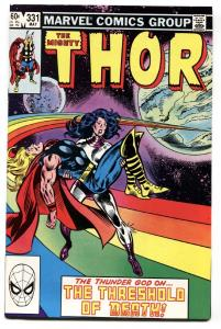Thor #331 comic book-1983-First appearance of CRUSADER