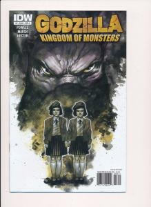 GODZILLA, Kingdom of Monsters #3, Variant Cover A ~2011~ IDW Comics ~ NM (HX366)