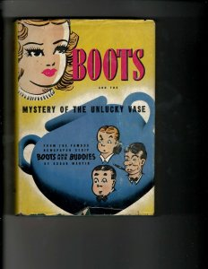 3 Books Boots and the Mystery of the Unlucky Vase Saint's Getaway Giant Ant JK13