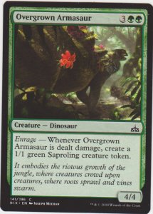 Magic the Gathering: Rivals of Ixalan - Overgrown Armasaur