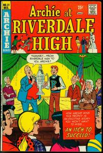 ARCHIE AT RIVERDALE HIGH #21-JUGHEAD/BETTY/VERONICA FN