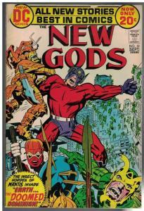 NEW GODS 10 G-VG  Sept. 1972