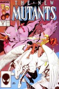 New Mutants (1983 series) #56, VF+ (Stock photo)