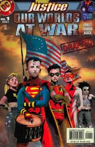 Young Justice (1998 series) Our Worlds at War #1, NM (Stock photo)