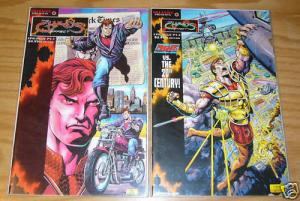 Chaos Effect: Epilogue #1-2 VF/NM complete series - magnus - valiant comics set