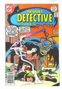 Detective Comics (1937 series) #468, Fine+ (Actual scan)
