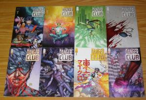 Danger Club #1-8 VF/NM complete series - sidekicks are the only heroes left