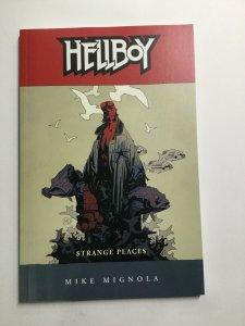 Hellboy Strange Places Tpb Softcover Sc Near Mint Nm Dark Horse