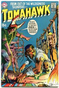 Tomahawk Comics #128 1970-Neal Adams- African American Doctor cover VF-