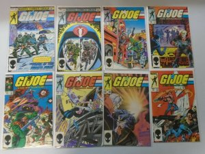 Early GI Joe reprints 8 different issues from #2-30 average 8.0 VF (1982-84)