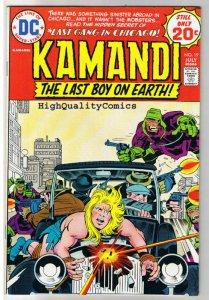 KAMANDI #19, VF, Jack Kirby, Last Boy on Earth, 1972, more JK in store