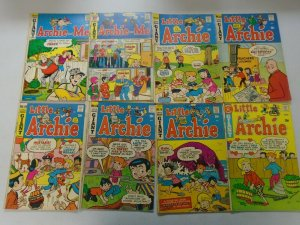 Bronze age Giant Size Archie lot 8 different issues avg 5.0 VG FN