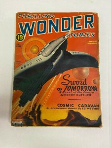 Thrilling Wonder Stories February 1947 Pulp Magazine