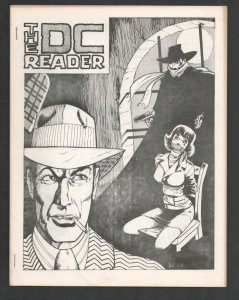 DC Reader #1 1975-First issue-Shadow bondage cover by Bill Black-The Powerhou...