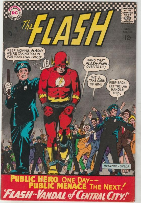 Flash, The #164 (Sep-66) FN/VF+ High-Grade Flash