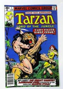 Tarzan (1977 series) #1, NM- (Actual scan)