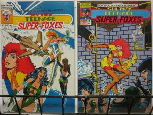 SULTRY TEENAGE SUPERFOXES (SO) 1-2
