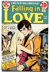 FALLING IN LOVE #139 comic book 1973-DC ROMANCE-LOVE PROBLEMS