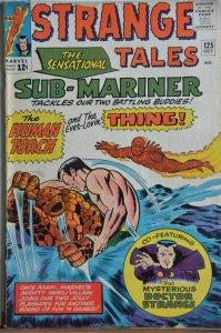Strange Tales #125 (1964) Sub-Mariner Thing Battle!!