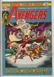 Avengers, The #104 (Oct-72) FN Mid-Grade Avengers