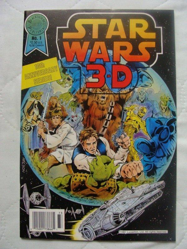 Star Wars #1 Blackthorne 3-D Series #30 (Dec 1987, Blackthorne Publishing) NM