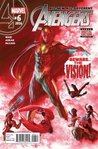 ALL NEW ALL DIFFERENT AVENGERS (2015 MARVEL COMICS) #6