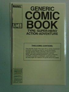 Generic Comic Book #1 7.0 FN VF (1984 Marvel)