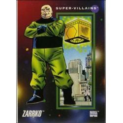 1992 Marvel Universe Series 3 ZARRKO #127